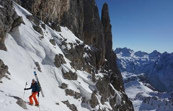 Top-class ski touring in the Dolomites